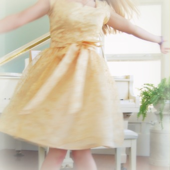 Dress Up Dress: What's the Occasion? Twirling