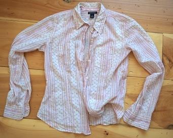 refashion fodder: thrift shirt