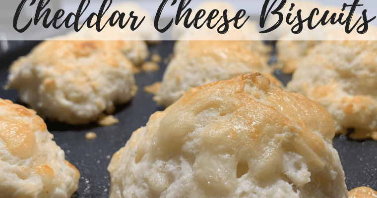 Quick and Easy Cheddar Cheese Biscuits