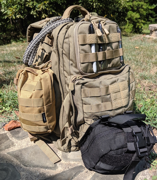 5.11 Tactical Rush 24: Backpack Review - Everyday Carry Utility Backpack