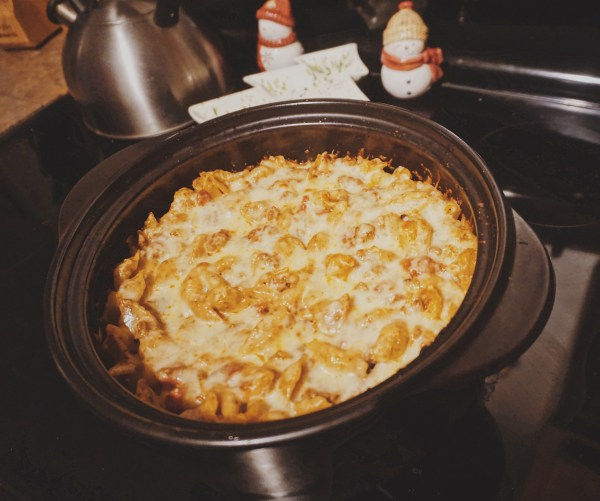 Bakes Pesto Pasta | Baked Shells with Pesto | Baked Pesto Dinner | Italian Pasta Dinner | Baked Pasta Dish