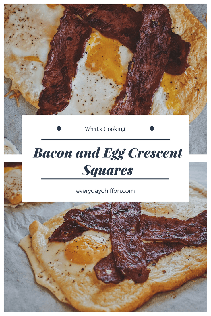 Bacon and Egg Crescent Squares | Breakfast for Two | Meals for Two | Bacon and Egg Breakfast