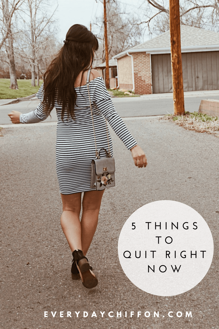 5 Things to Quit Right Now | Positive Thinking