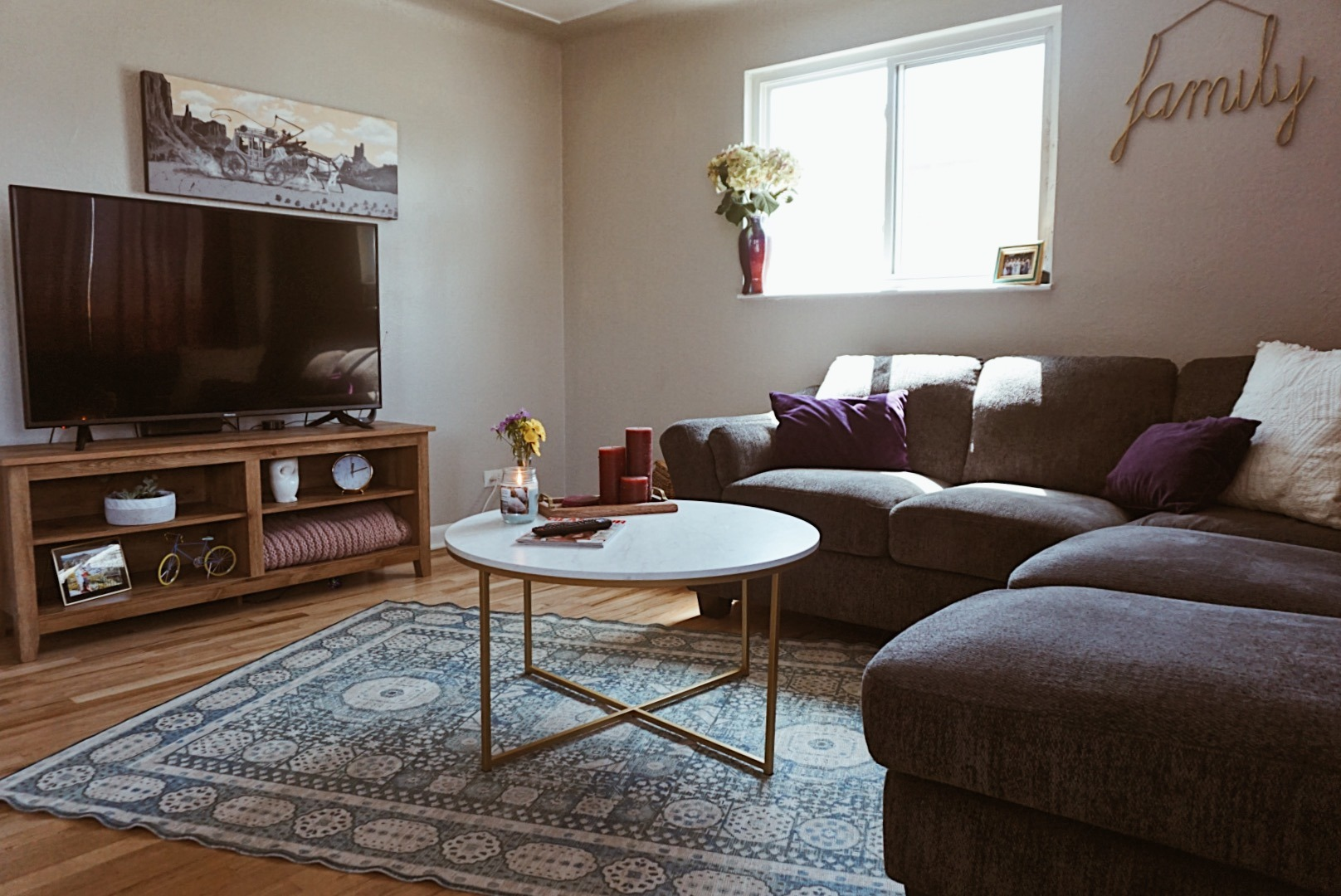 Living Room Reveal   Affordable & Chic Upgrade