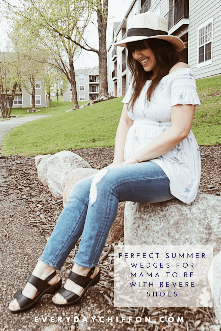 The Perfect Summer Wedges for Mama To Be with Revere Shoes