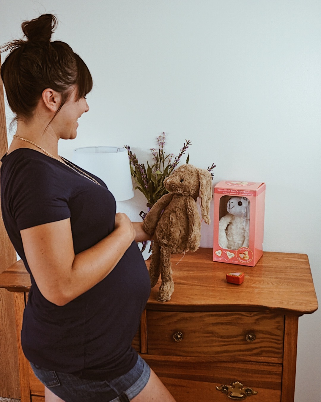 Baby O's Heartbeat Keepsake with My Baby's Heartbeat Bear   The Best Pregnancy Gift Out There
