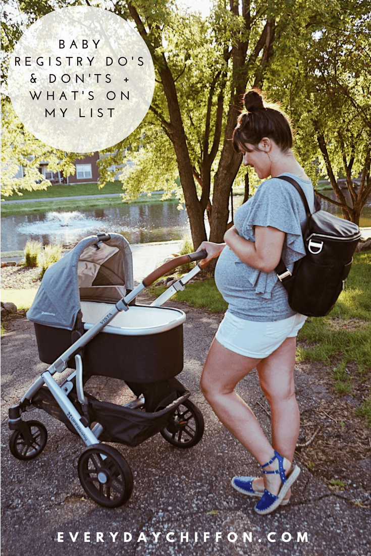 Baby Registry Do's and Don'ts | What's On My List - Everyday Mama