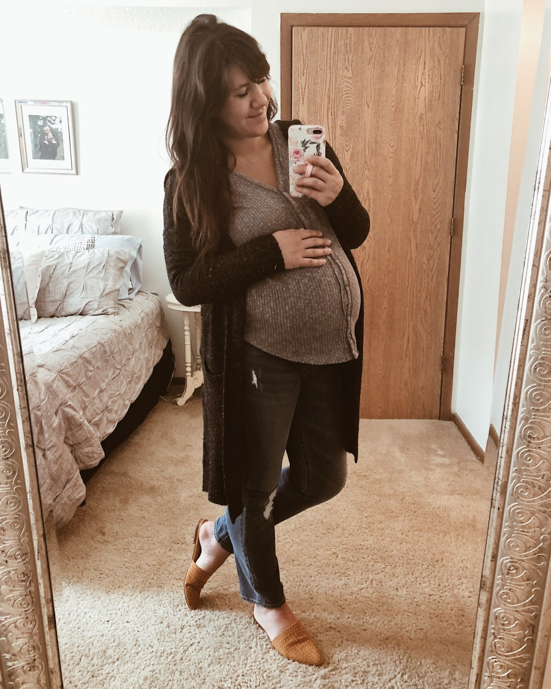 20 Fall Basics Under $100 - I included 12 additional maternity pieces | Everyday Chiffon