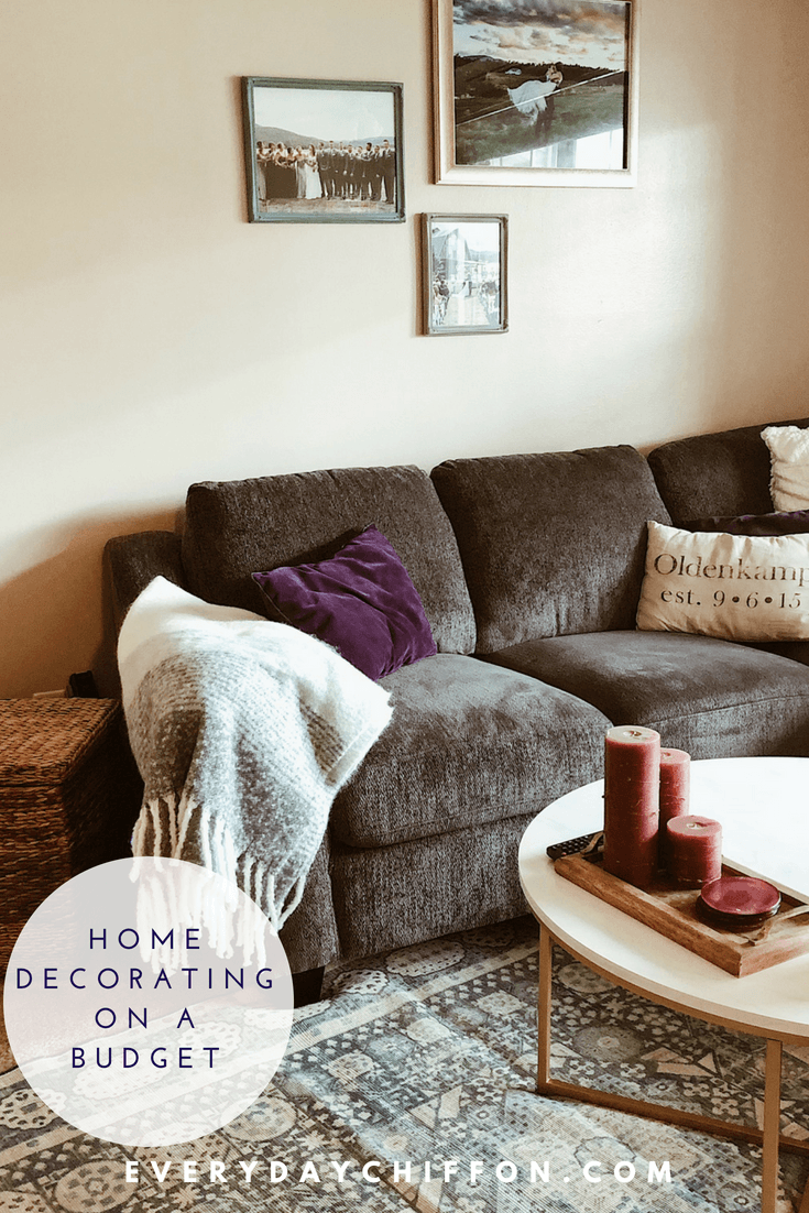 Home Decorating on a Budget - Affordable Pieces That Work | Everyday Chiffon