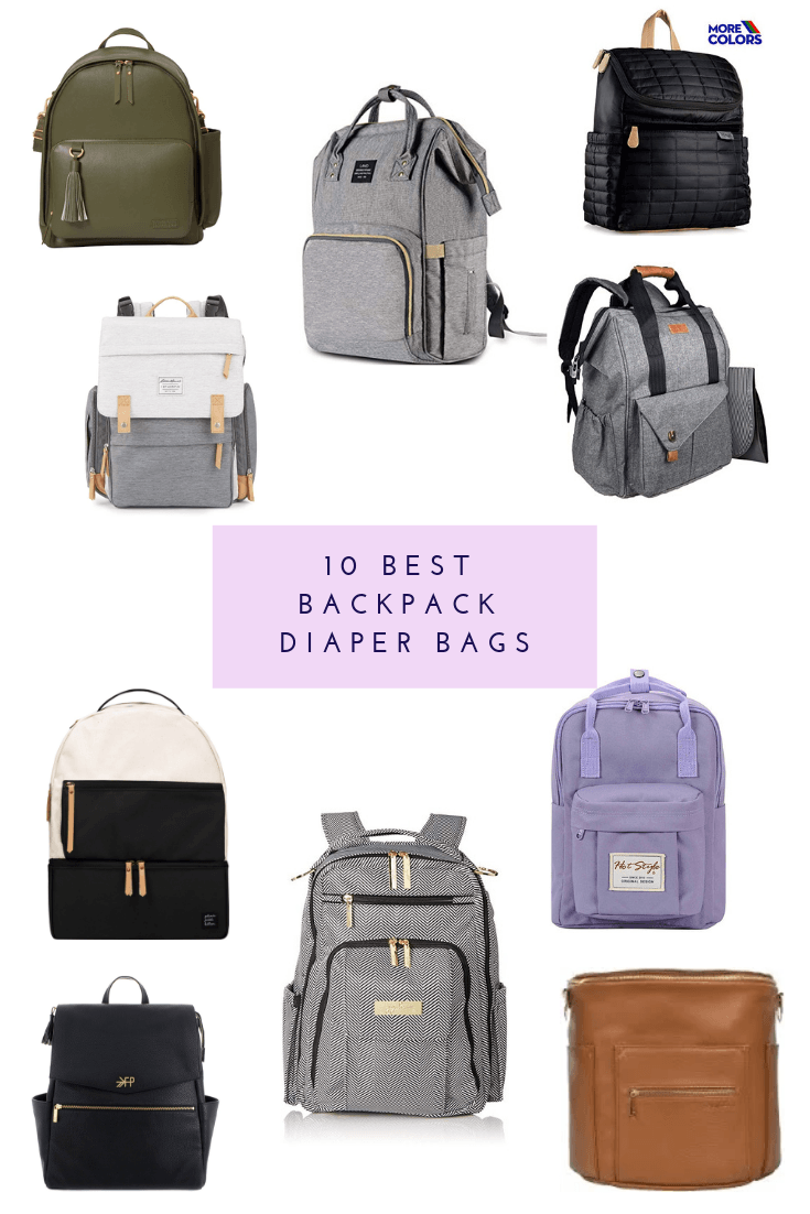 The 10 Best Backpack Diaper Bags - Everyday Chiffon  Motherhood Blog f34b63143921b