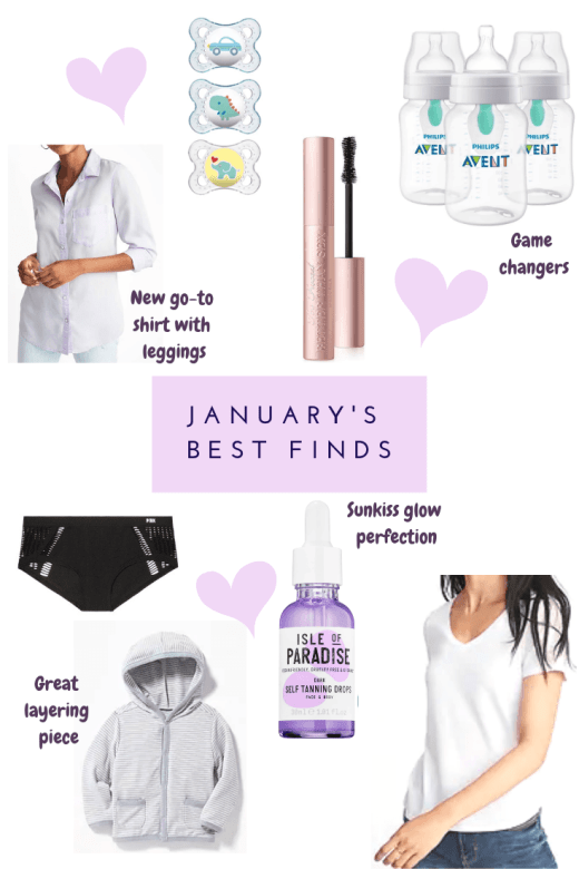 January's Best Finds - Everyday Chiffon | Best Baby, Style and Life purchases from last month