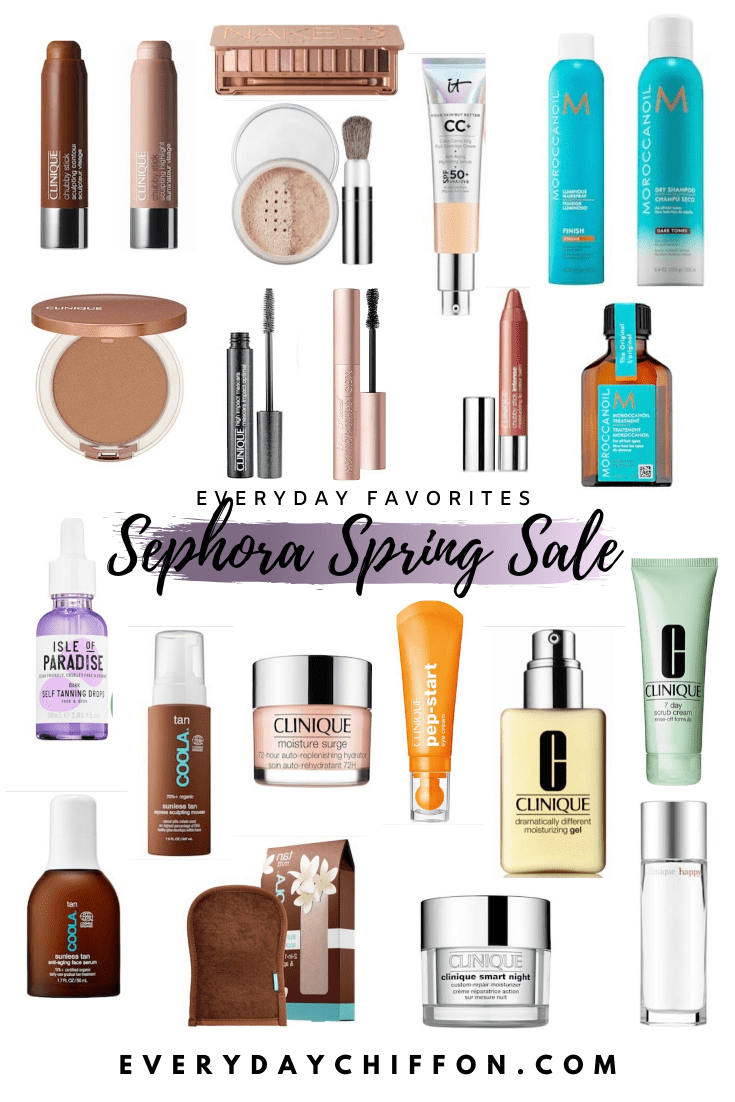 Sephora Sale Favorites | Everyday Chiffon