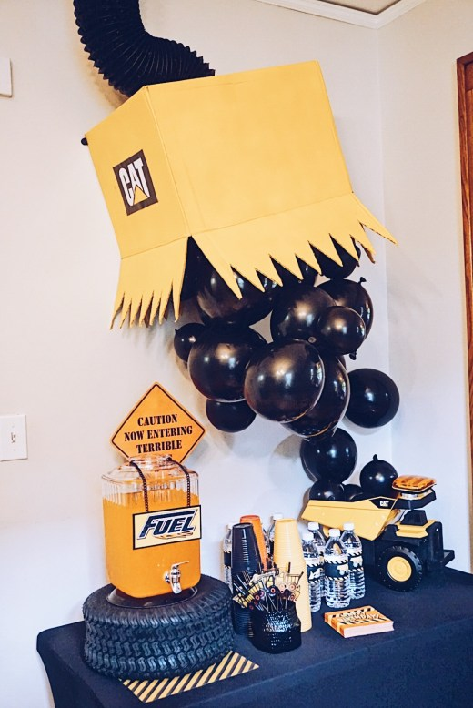 2nd Birthday Party: Construction Theme Party | Toddler Birthday Party