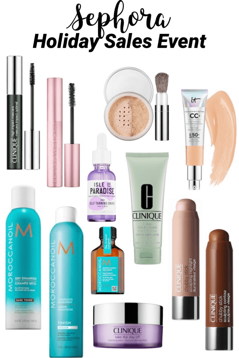 Sephora Holiday Sales Event | Beauty, Skincare & Hair Products - Everyday Chiffon