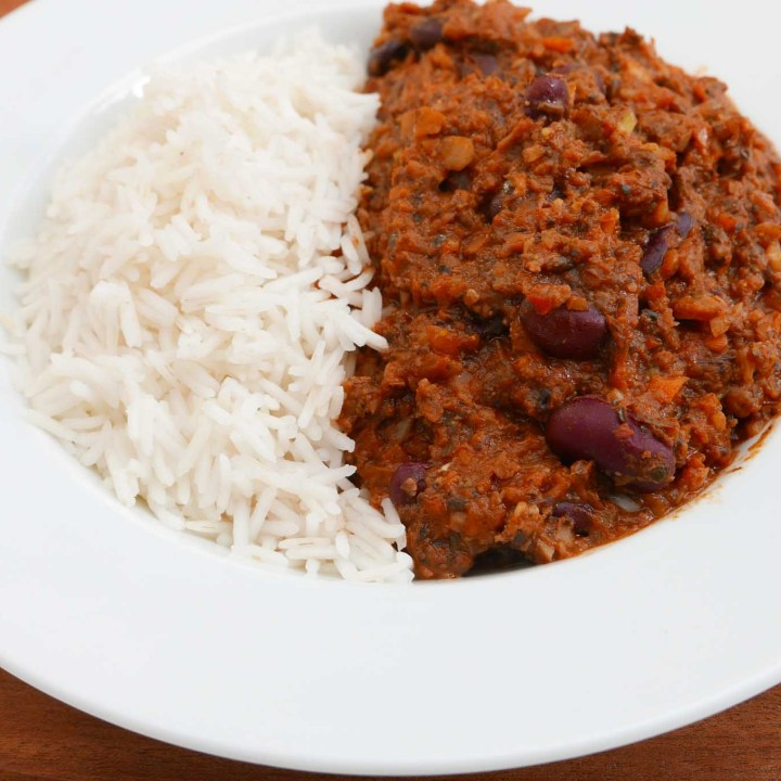 Everyday Chilli with basmati rice
