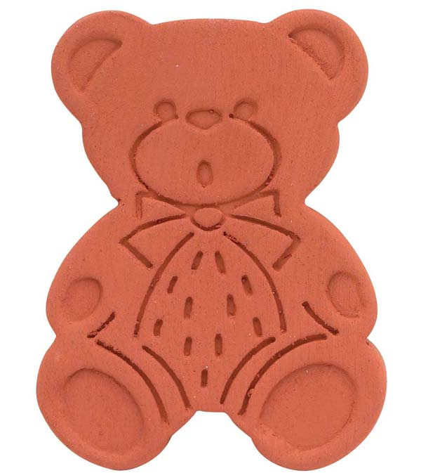 Terracotta bear sugar saver