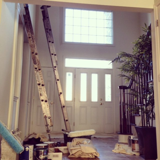 painting foyer beige sherwin williams
