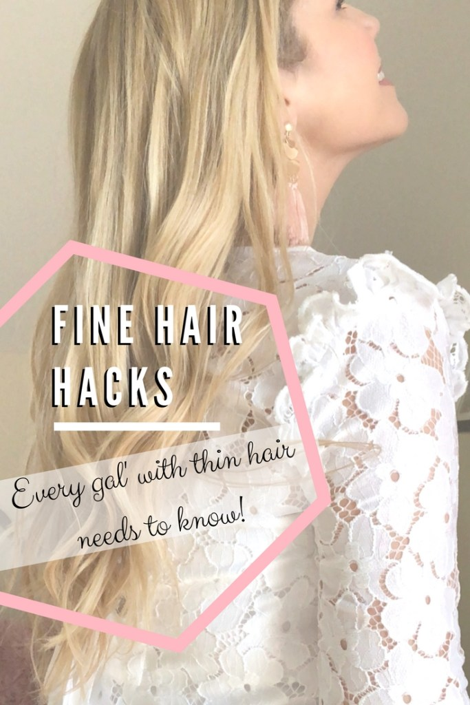 Fine Hair Hacks Every gal with thin hair needs to know
