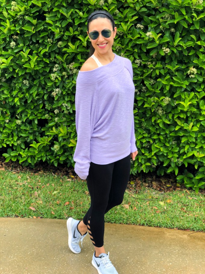 spring trends i can't live without purple sweater