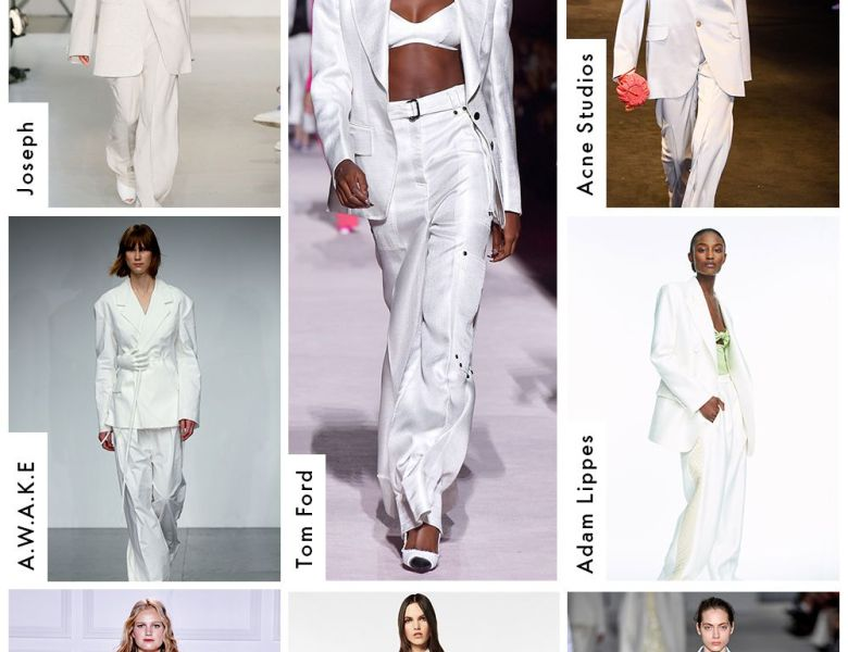 spring trends i can't live without elle white suiting picture