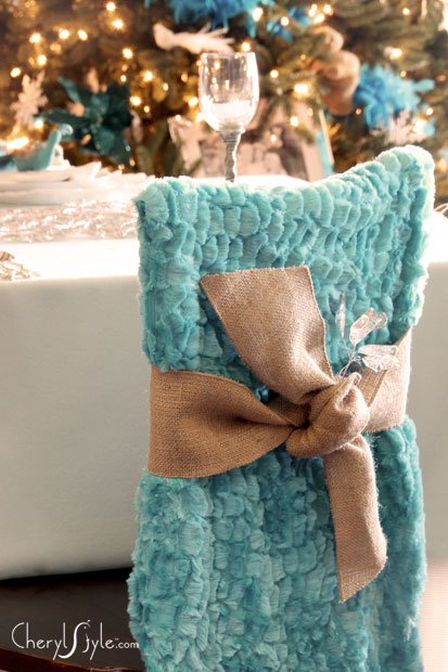 dining chair covers for christmas slipcovers chairs with t cushion no-sew diy the room, living room—wherever!