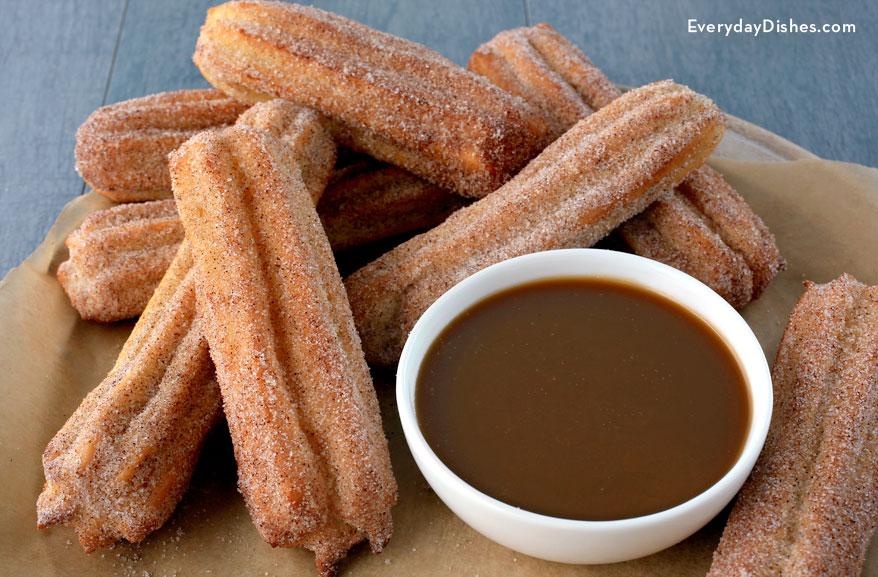 Baked churros recipe  Everyday Dishes  DIY