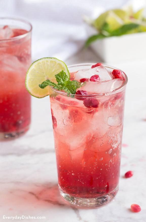 Easy Vodka Pomegranate Cocktail Recipe