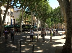 Strolling down Cours Mirbeau, is the perfect start to a tour of Aix.