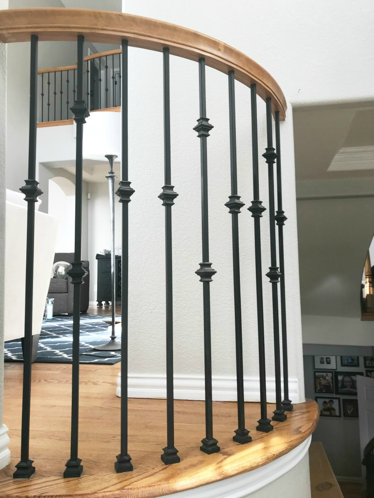 how-to-replace-wood-spindles-with-wrought-iron-spindles-everydayeditsblog