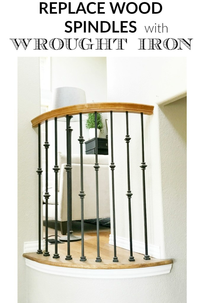 how-to-replace-wood-spindles-with-wrought-iron-spindles-everyday-edits-blog