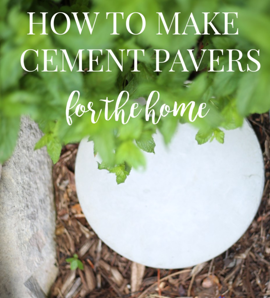 how-to-make-cement-pavers-everyday-edits