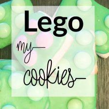 Lego Sugar Cookies