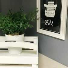 Laundry Room Refresh on a Tiny Budget