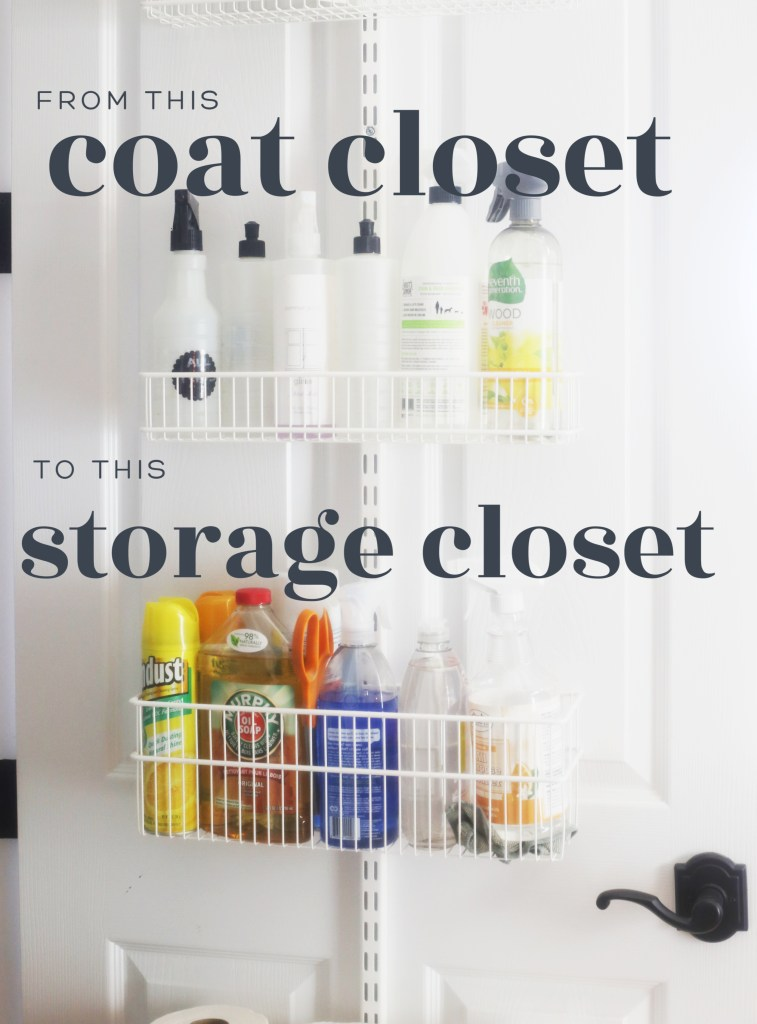 how-to-create-storage-closet-from-coat-closet