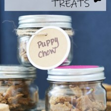 Homemade Puppy Chow Treats