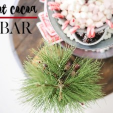 How to Create a Casual Hot Cocoa Bar