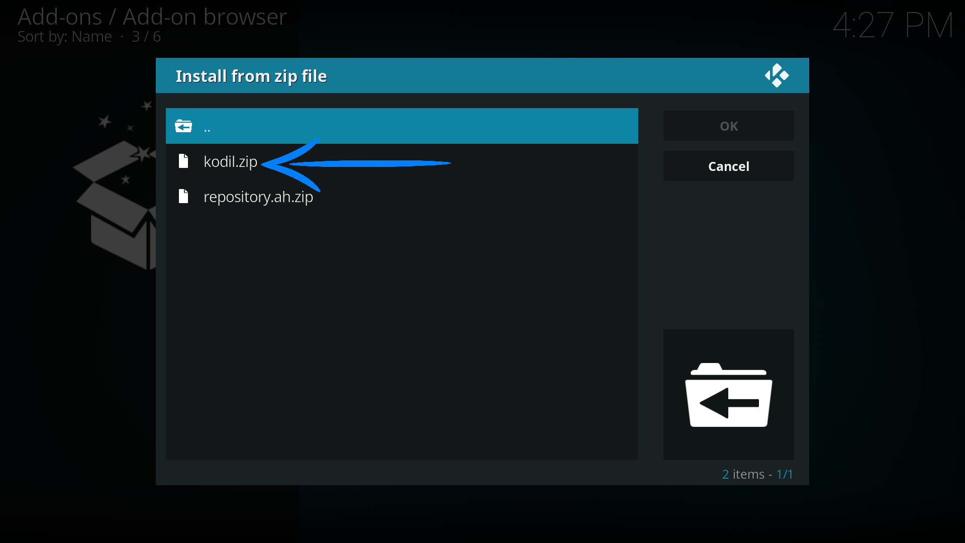 Install Kodil Repository On Kodi – EverydayElectronics