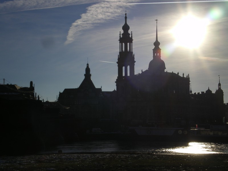 Dresden's astonishing skyline.