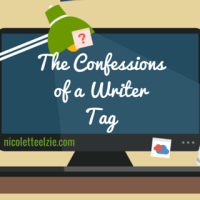 """Confessions of a Writer"" A Writer's Tag"