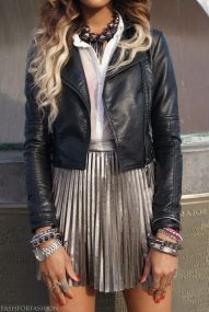 leather skirt 7