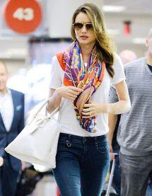 scarf Miranda Kerr
