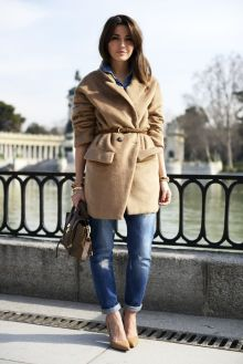 belted coat Alexandra Pereira