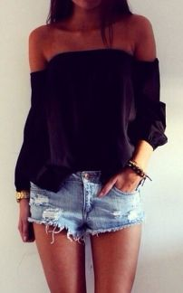 everydayfacts off the shoulder top