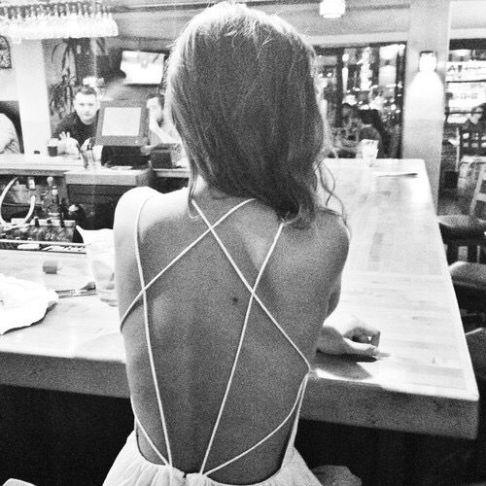 everydayfacts backless dress