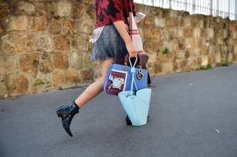 fashion week bags crazy loewe
