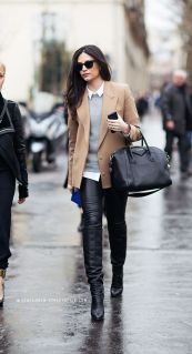 everydayfacts leather skinnies