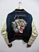 everydayfacts satin bomber jacket