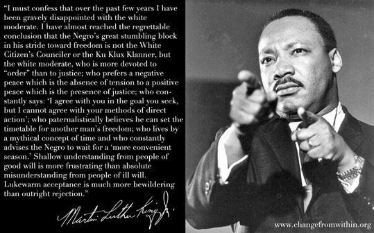 Rev. Dr. Martin Luther King, Jr. Quote