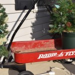 Red Wagon Christmas Front Porch Decor Everyday Frugalista