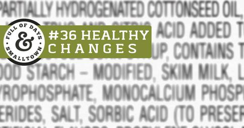 Healthy Change #36 Label Readers